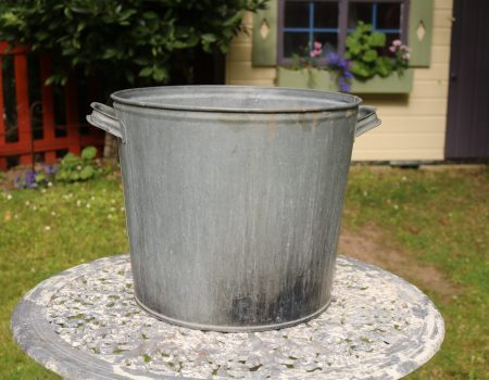 Galvanised Round Tub #157