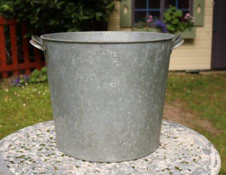 Galvanised Round Tub #158