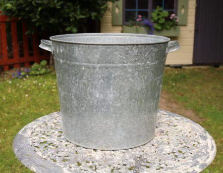 Galvanised Round Tub #159
