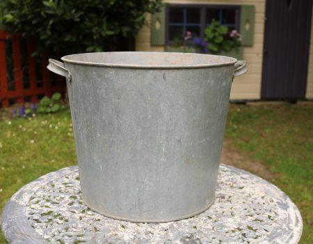 Galvanised Round Tub #161