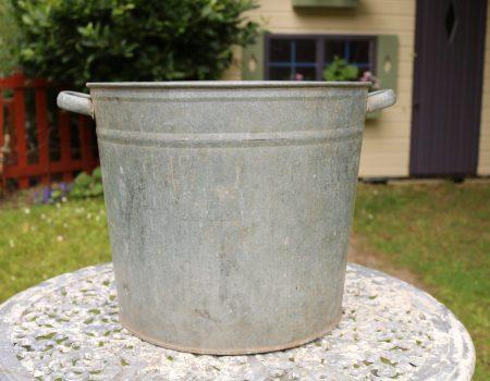 Galvanised Round Tub #162