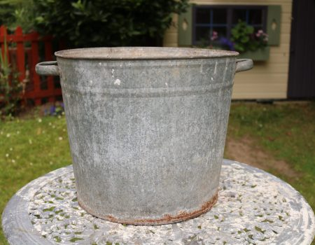 Galvanised Round Tub #163