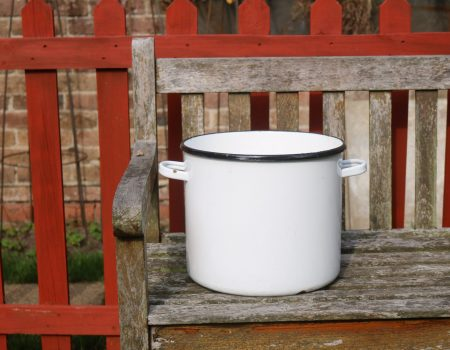 White Enamel Tub #168