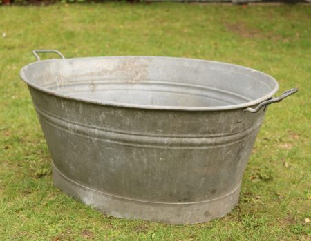 Oval Galvanised Tub #179