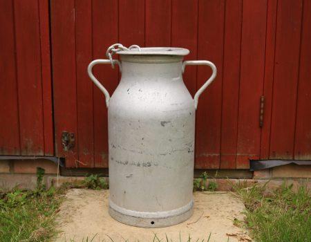 Aluminium Milk Churn #34