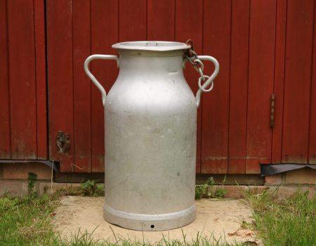 Aluminium Milk Churn #36