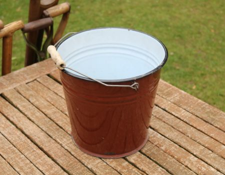 Enamel Bucket #192