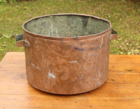 Large Copper Tub #63