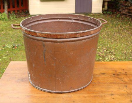 Large Copper Tub #64