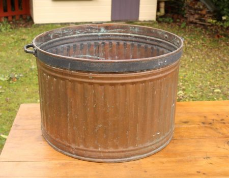 Large Copper Tub #65