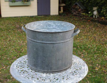 Galvanised Round Tub #197