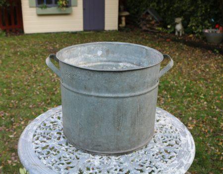 Galvanised Round Tub #198