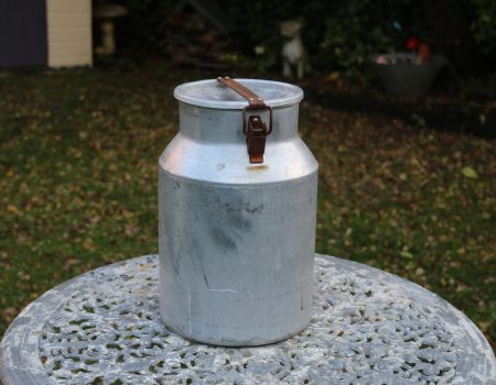 Aluminium Milk Churn #37