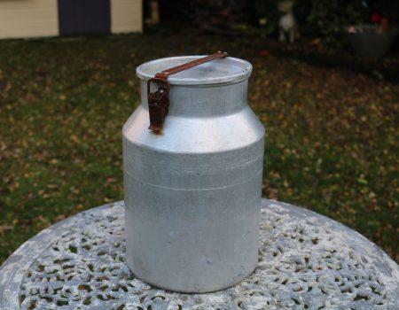 Aluminium Milk Churn #38