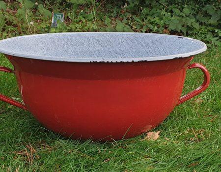 Round Enamel bowl #194