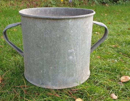 Round Galvanised Tub #244