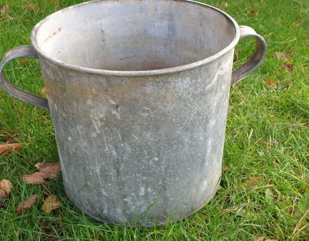 Round Galvanised Tub #248