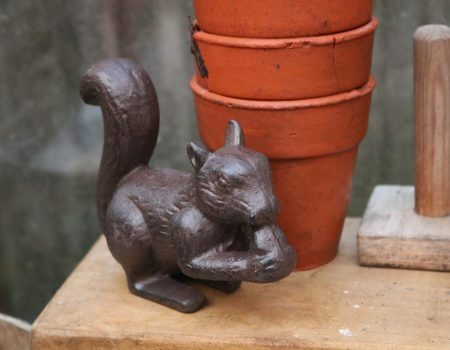 Cast Iron Squirrel