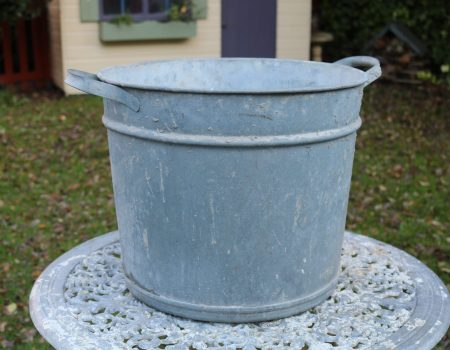Round Galvanised Tub #205