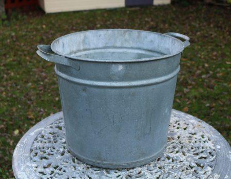Round Galvanised Tub #211