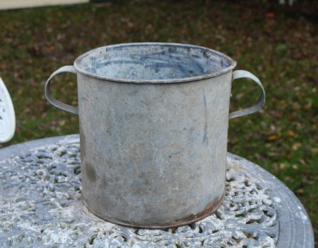 Round Galvanised Tub #224