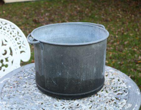 Round Galvanised Tub #228