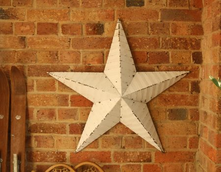 Amish Barn Star – White