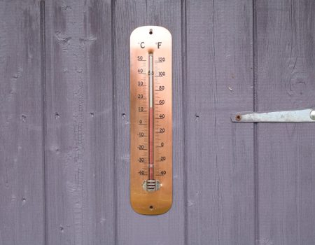 Copper Plated Thermometer