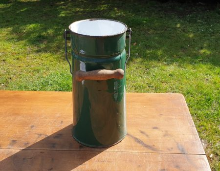 Enamel Milk Churn #2