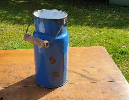 Enamel Milk Churn #10