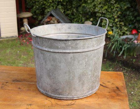 Round Galvanised Tub #6