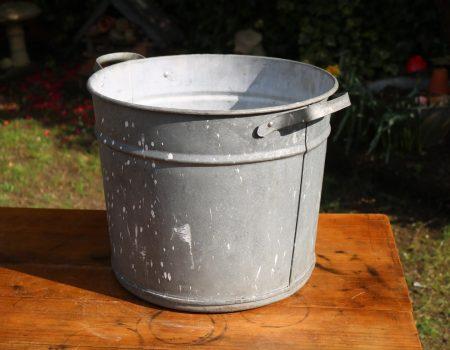 Round Galvanised Tub #15