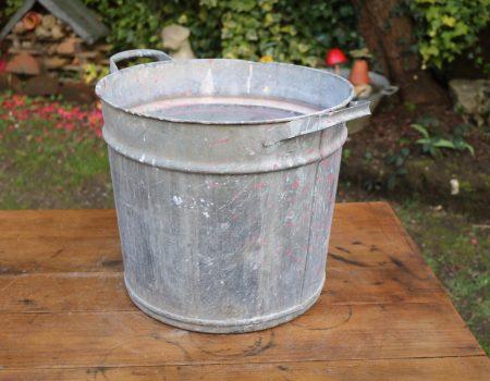 Round Galvanised Tub #40