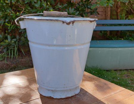 Enamel Bucket #12