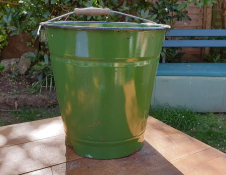 Enamel Bucket #15