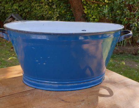 Oval Enamel Tub #34