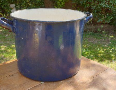 Round Enamel Tub #63