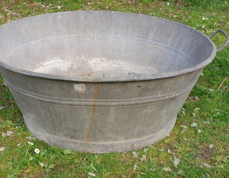 Galvanised Oval Tub #54
