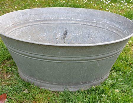 Galvanised Oval Tub #59