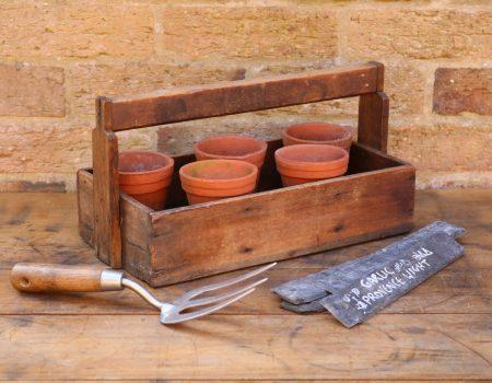 Wooden Pot Crate