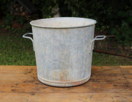 Round Galvanised Tub #1