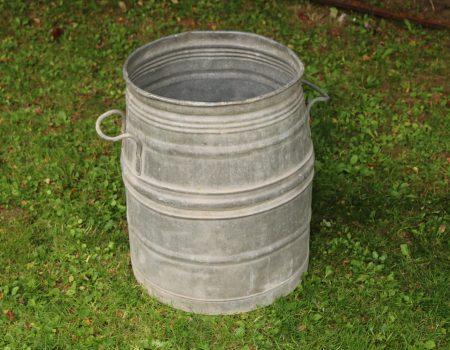 Galvanised Barrel #1