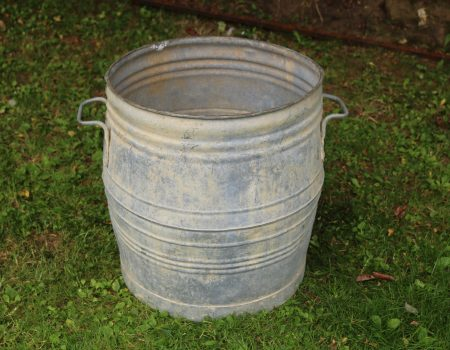 Galvanised Barrel #4