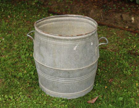 Galvanised Barrel #5