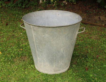 Galvanised Tall Tub #1