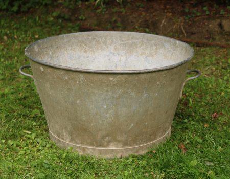 Galvanised Round Tub #3