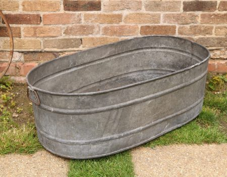 Straight edged oval tub #2