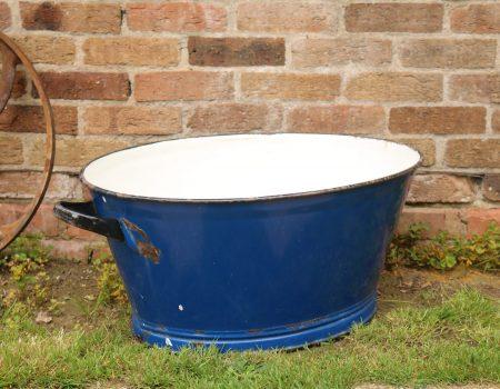 Oval Enamel Tub #2