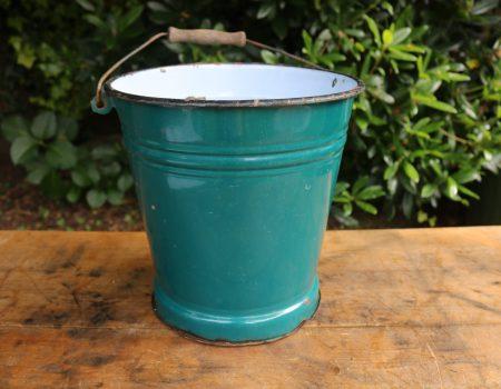 Enamel Bucket #4