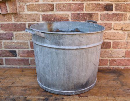 Round Galvanised Tub #4